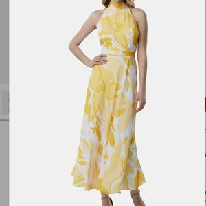 TAHARI ASL Maxi floral dress 10
